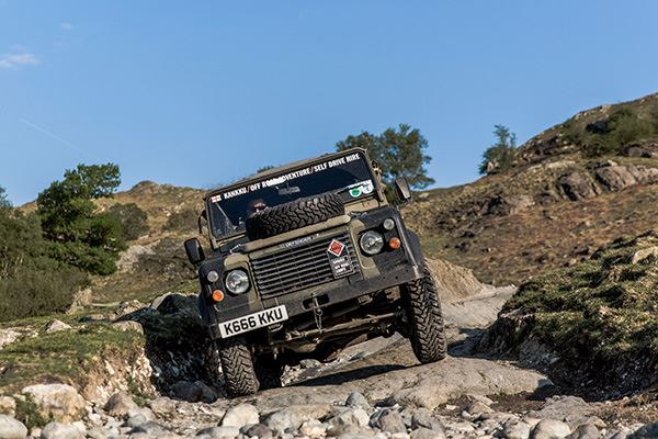 Try an off-road driving experience with Kankku