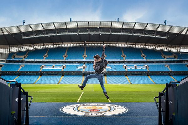 Take a tour of Manchester City's Etihad Stadium