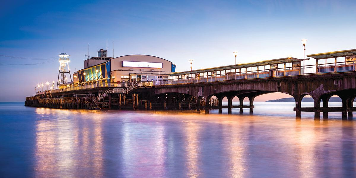 Take in the beauty of Bournemouth