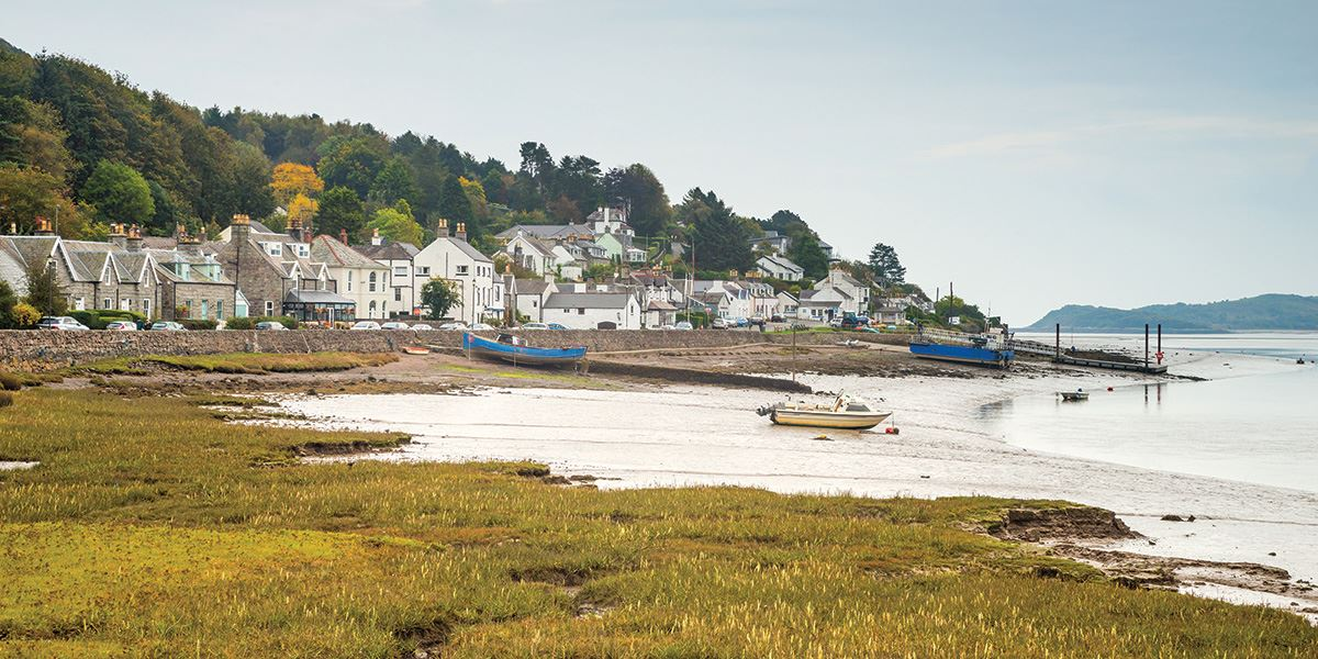 Kippford is a small village along the Solway coast