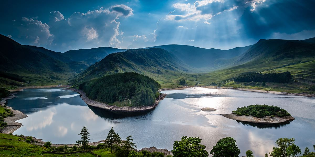 Enjoy far-stretching views across Haweswater