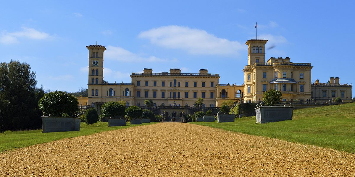 Discover the breath-taking gardens at Queen Victoria's seaside palace, Osborne House