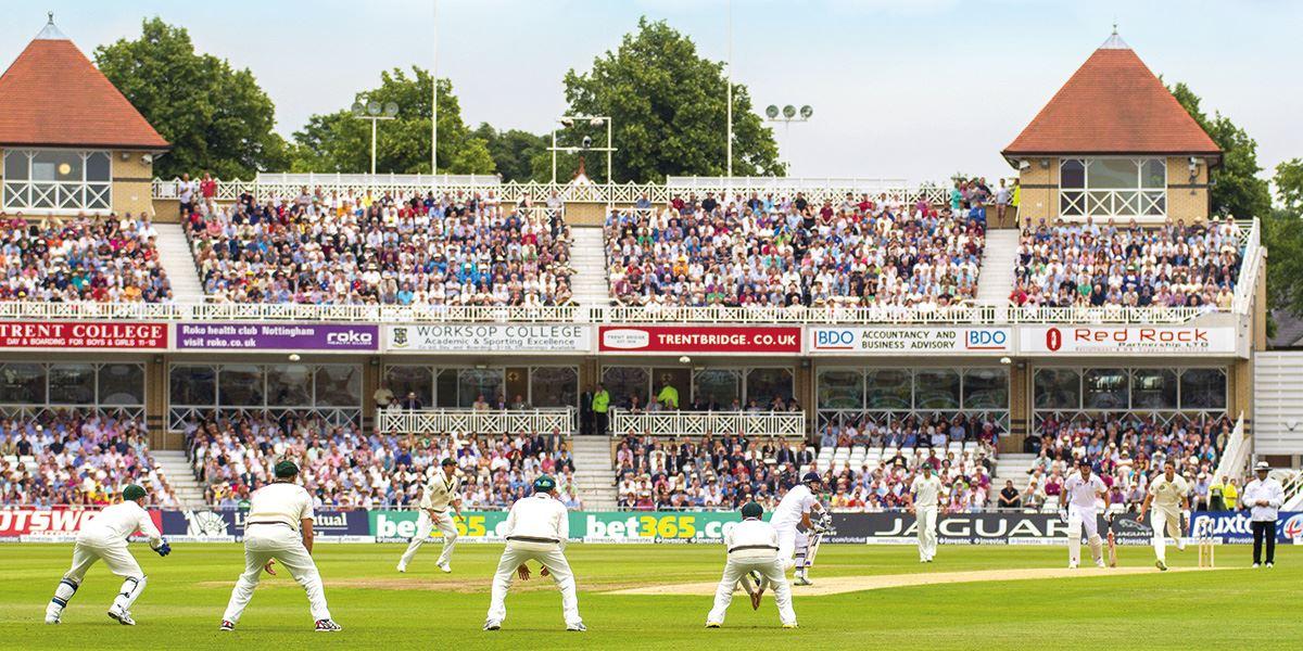 The famous Trent Bridge Cricket Ground