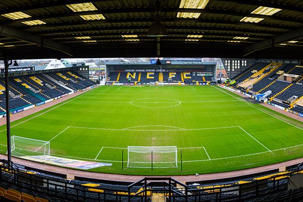 Meadow Lane, home to Notts County FC