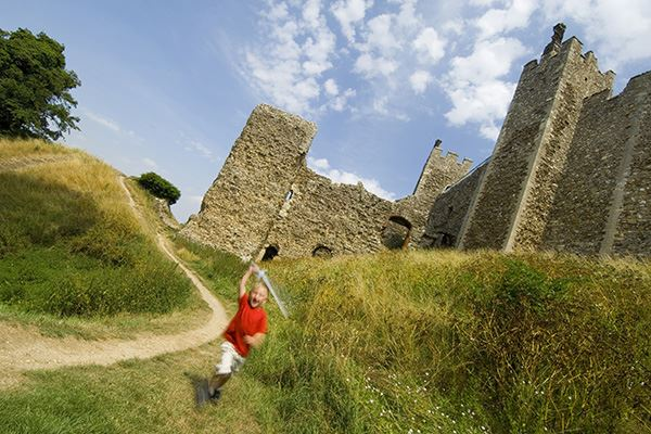 Kids will love Framlingham Castle