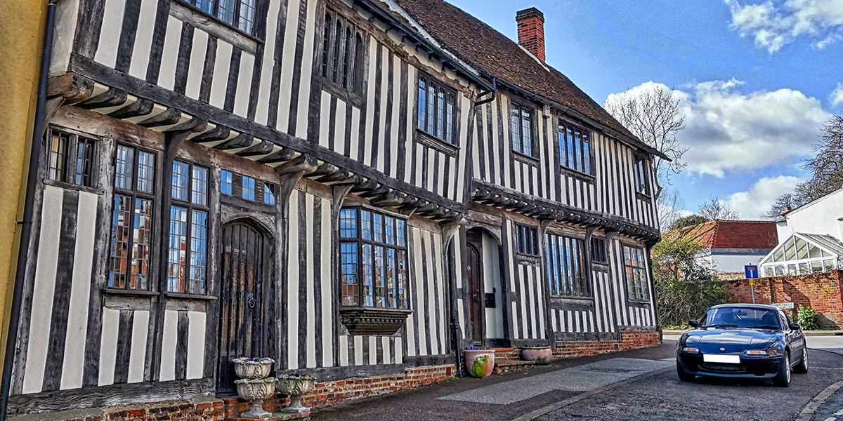 Lavenham is full of Tudor architecture