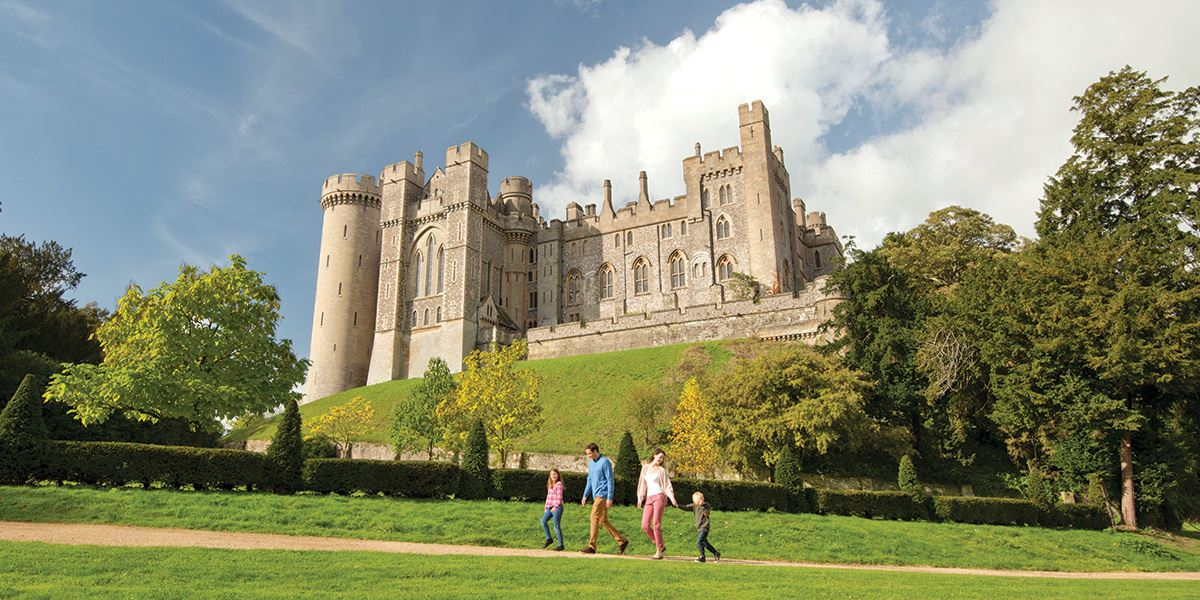 Watch history come to life at Arundel Castle
