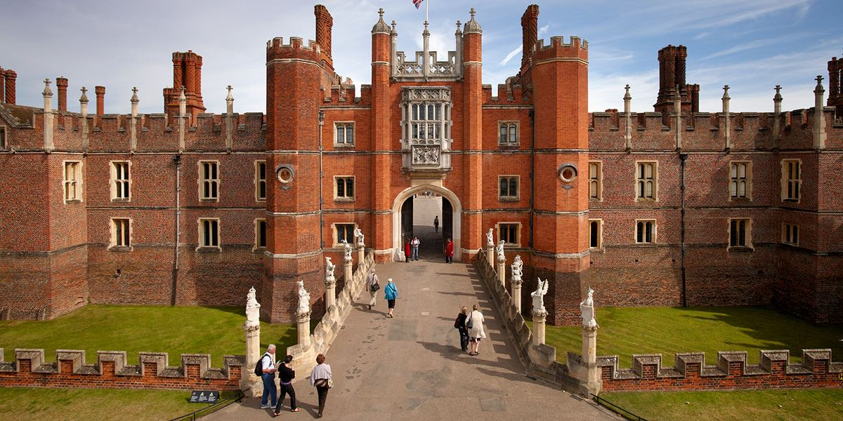 No visit to Surrey is complete without a trip to Hampton Court Palace