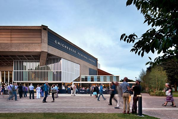 Catch a show at Chichester Festival Theatre