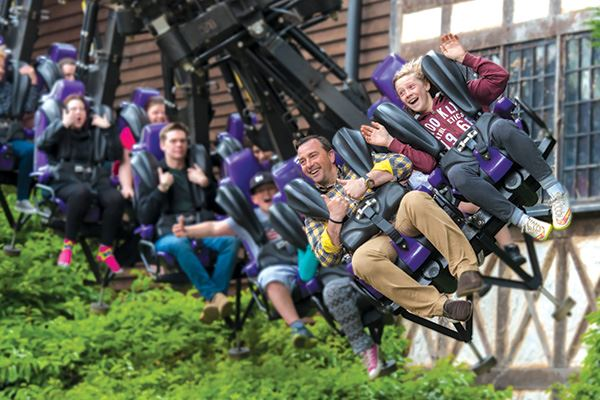 Dare you experience the Vampire ride at Chessington World of Adventures?