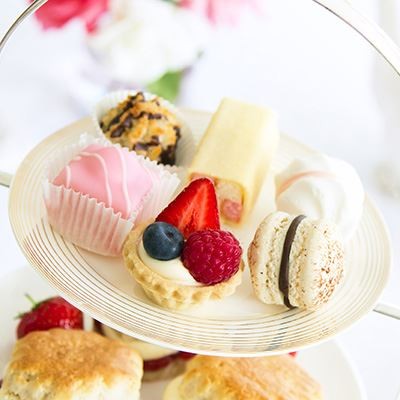 Try a traditional afternoon tea