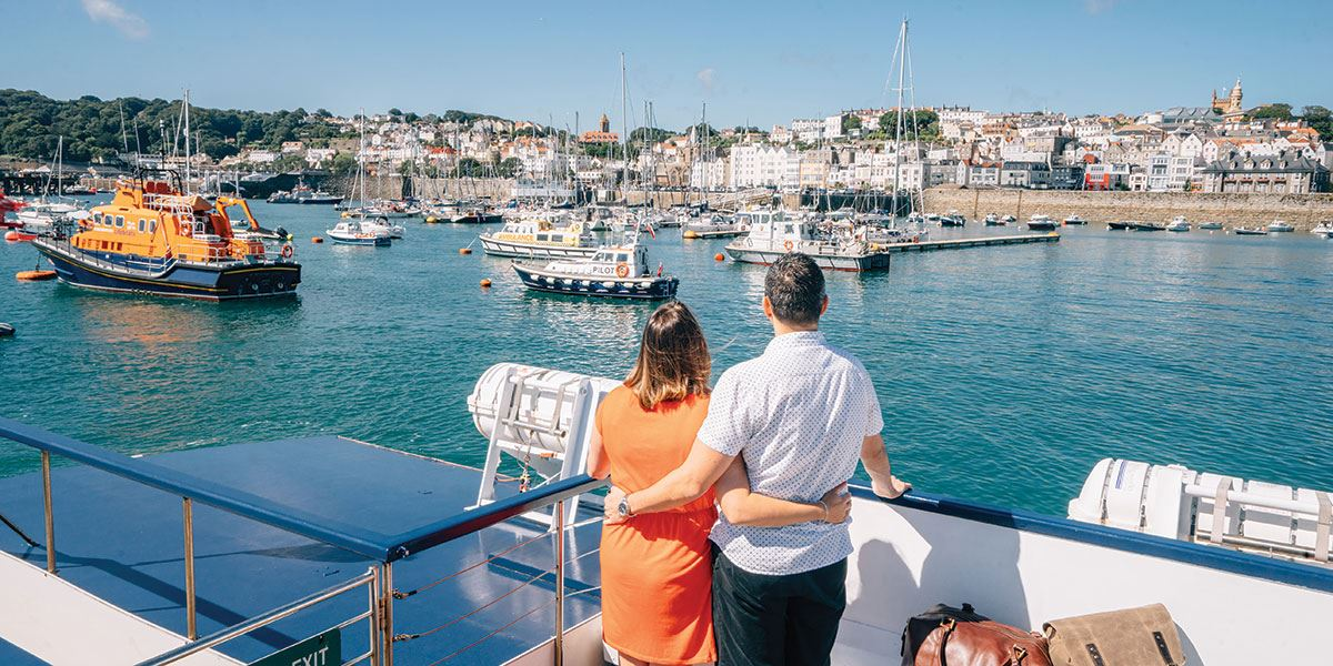 Explore Guernsey's beautiful capital, St Peter Port