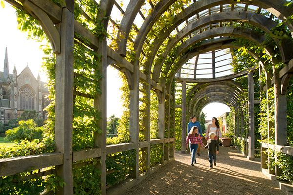 Gardens at Arundel Castle