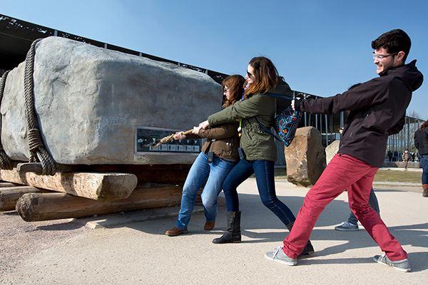 Visitor centre at Stonehenge