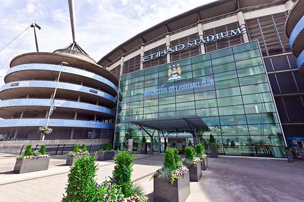 The Etihad Stadium is home to Manchester United