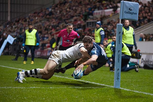 Sale Sharks in action