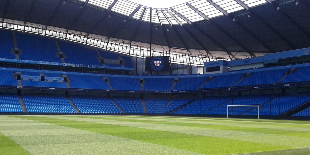 Manchester City fans will love a tour of the impressive Etihad Stadium