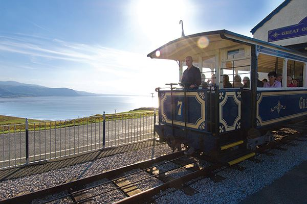 Make sure you don't miss out a ride on the Great Orme Tramway