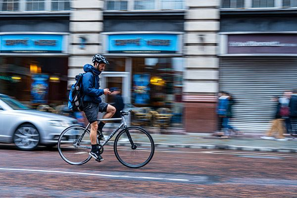 Manchester is a bike-friendly city