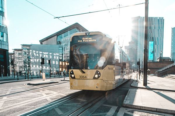Metrolink trams will take you to a wide range of destinations in and around the city