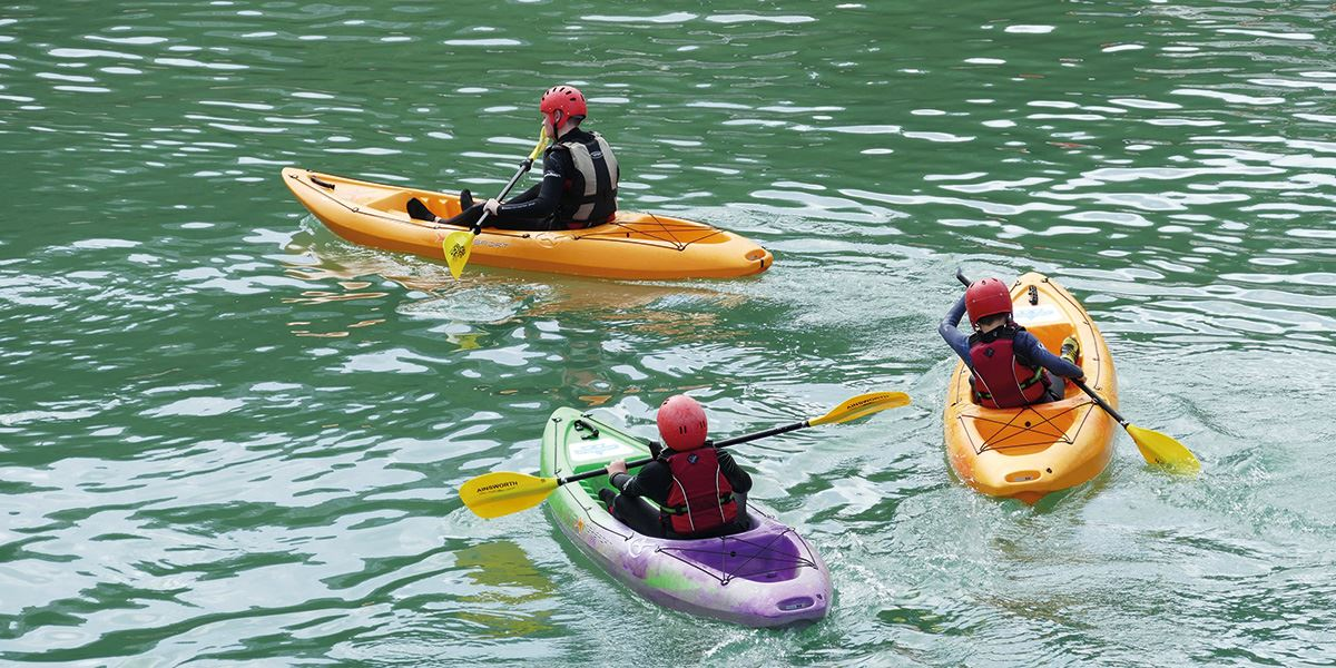 Why not take to the water and try a new sport?