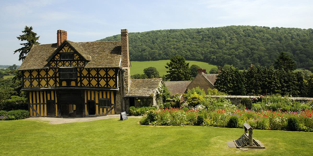 Stokesay Castle is one of Shropshire's many castles