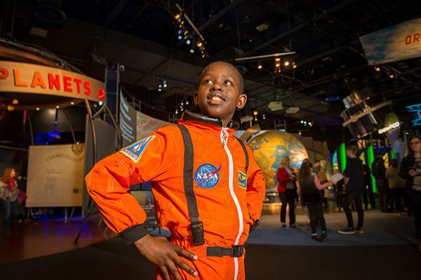 Dress up at the National Space Centre