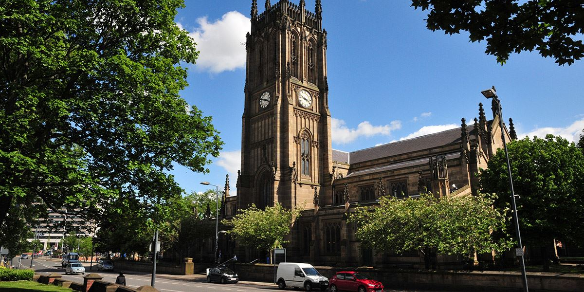Marvel at Leeds Minster's Gothic architecture