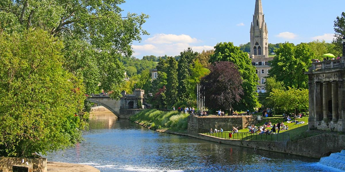 The River Avon runs right by Salisbury, why not hop on a boat?