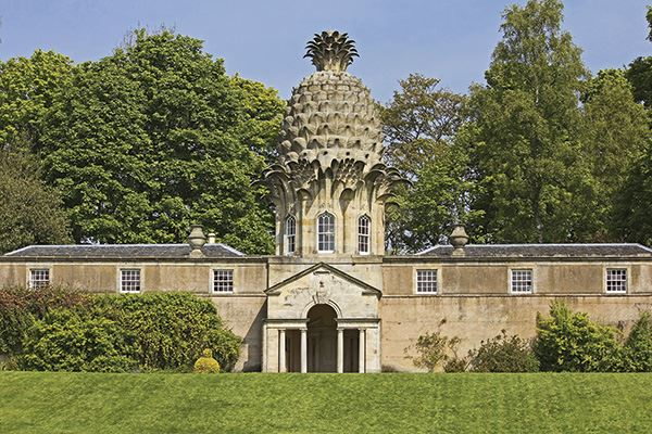 The Pineapple in Dunmore Park