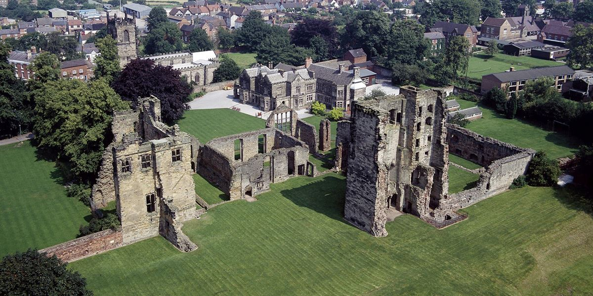 Ashby de la Zouch Castle began as a manor house in the 12th century and reached castle status in the 15th century