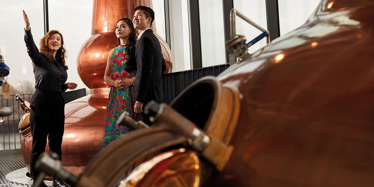 Take a tour of Clydeside Distillery