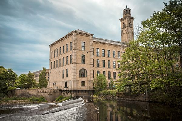 Saltaire is a UNESCO World Heritage Site