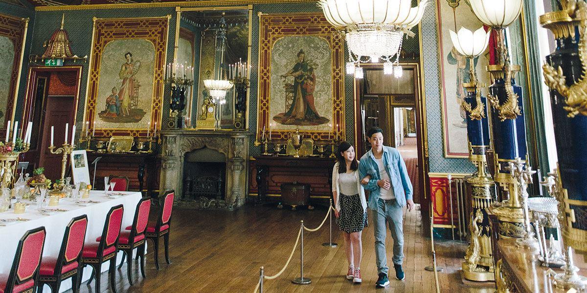 Make sure you visit the lavish Royal Pavilion
