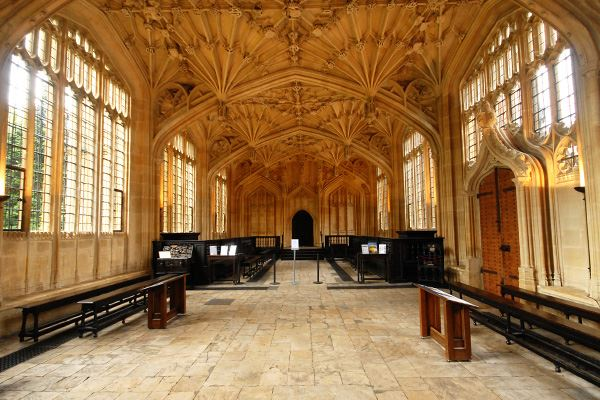 Divinty School at the Bodleian Library