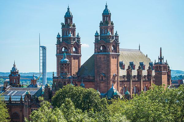 The Kelvingrove Museum and Gallery opened in 1901 and is a firm favourite with local people and visitors