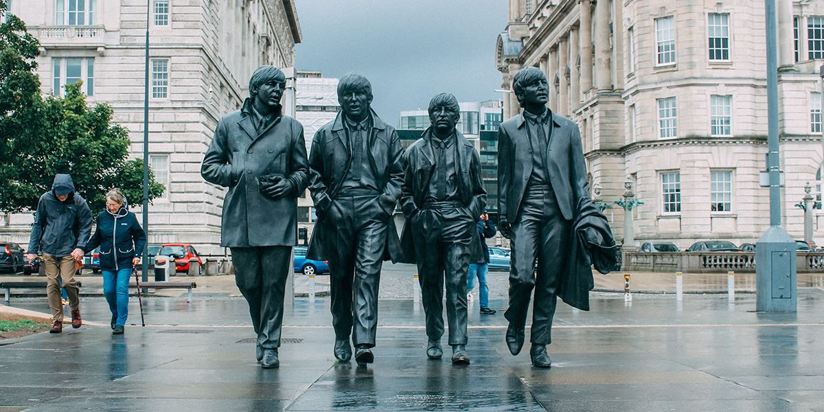 The Beatles put Liverpool firmly on the arts and culture map