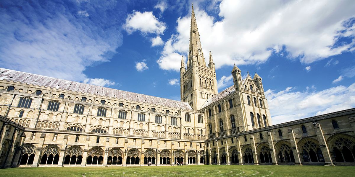 Norwich Cathedral was consecrated in the 12th century