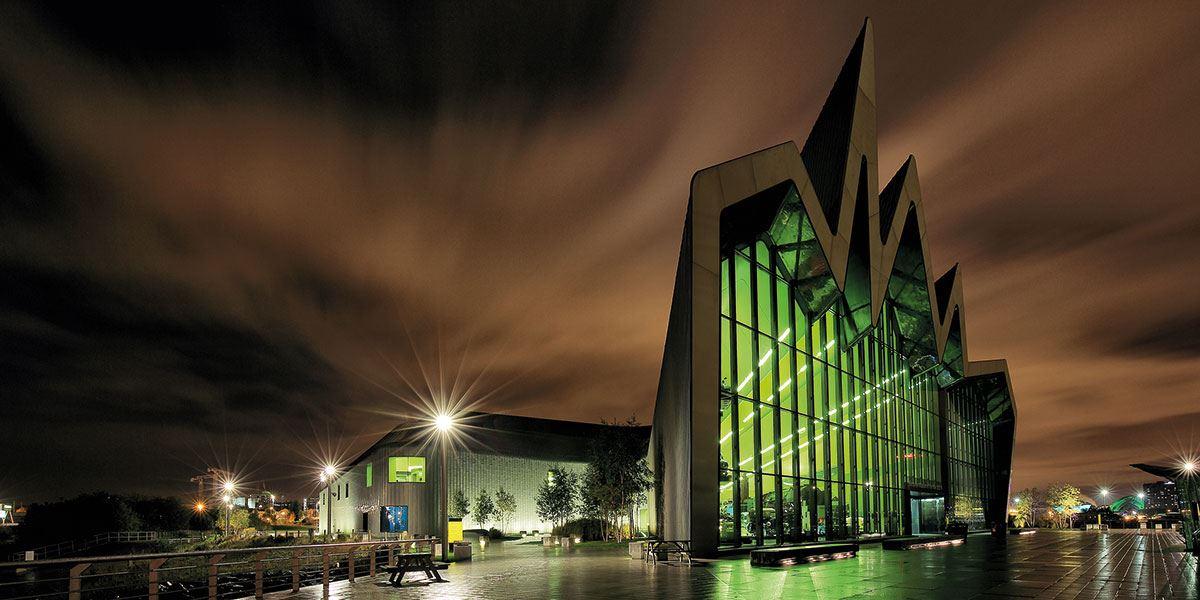 Riverside Museum is Glasgow's award-winning transport museum