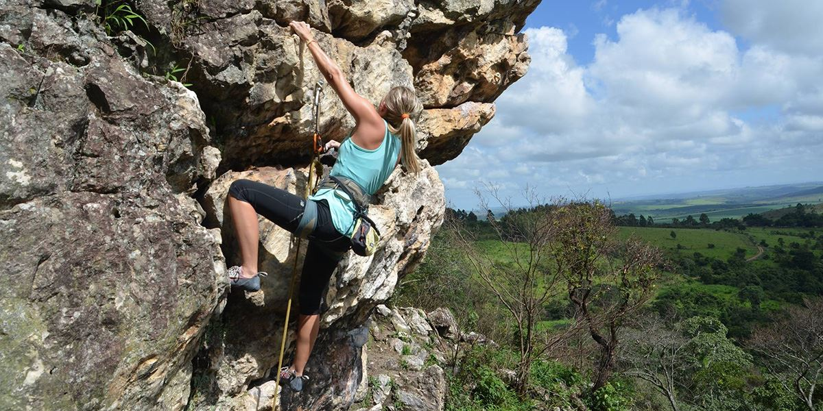 Enjoy outdoor climbing thanks to West Yorkshire's rugged landscapes