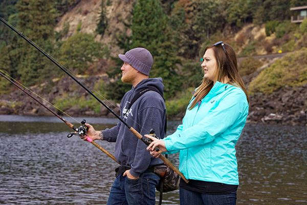There are a number of fishing opportunities in this region