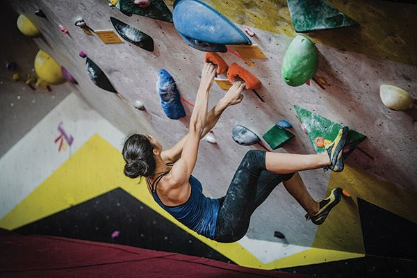Leeds and its surrounding region is home to a number of indoor climbing walls