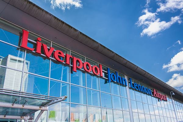 Liverpool John Lennon Airport is just seven miles from the city centre