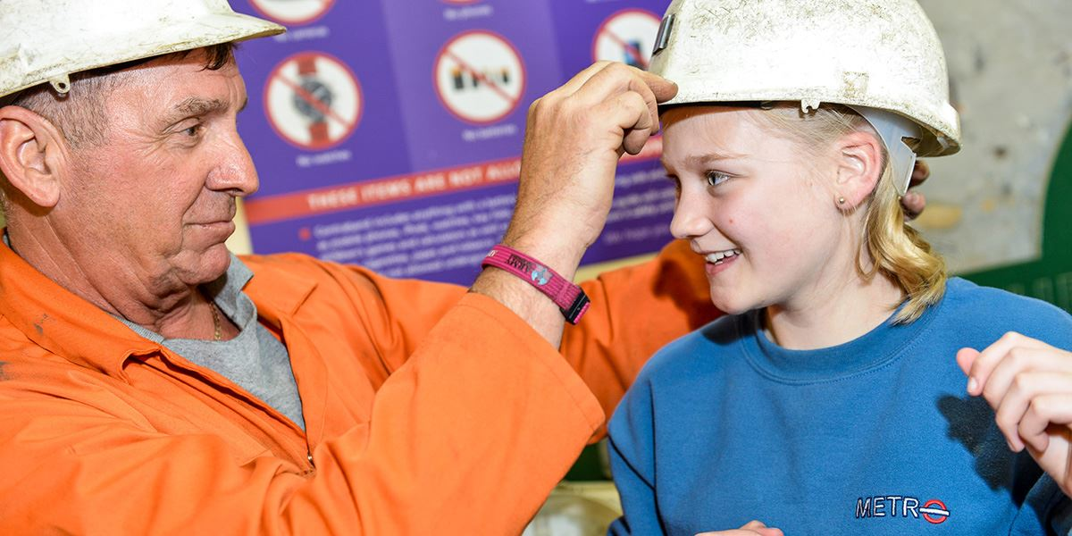 Wakefield's National Coal Mining Museum offers interactive exhibitions