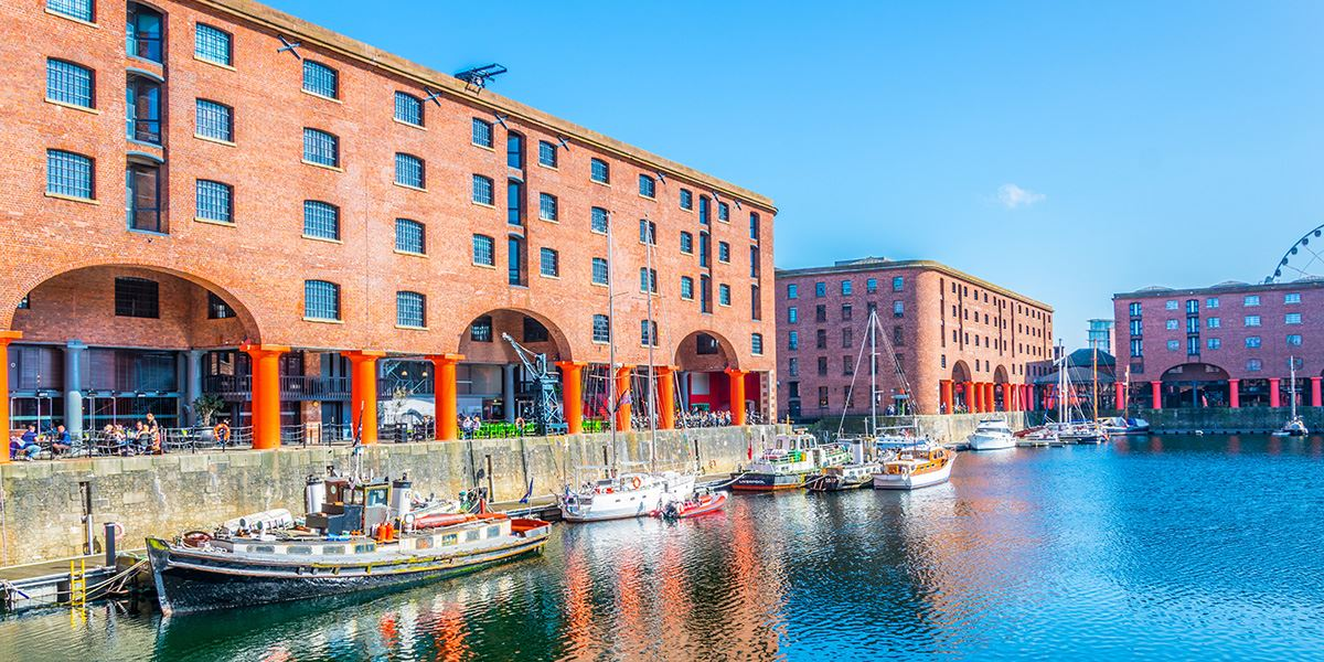 Liverpool's Albert Dock is home to a range of attractions
