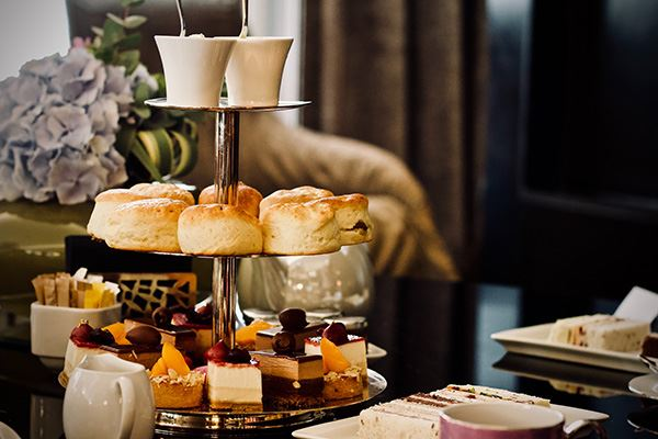 Treat yourself to afternoon tea