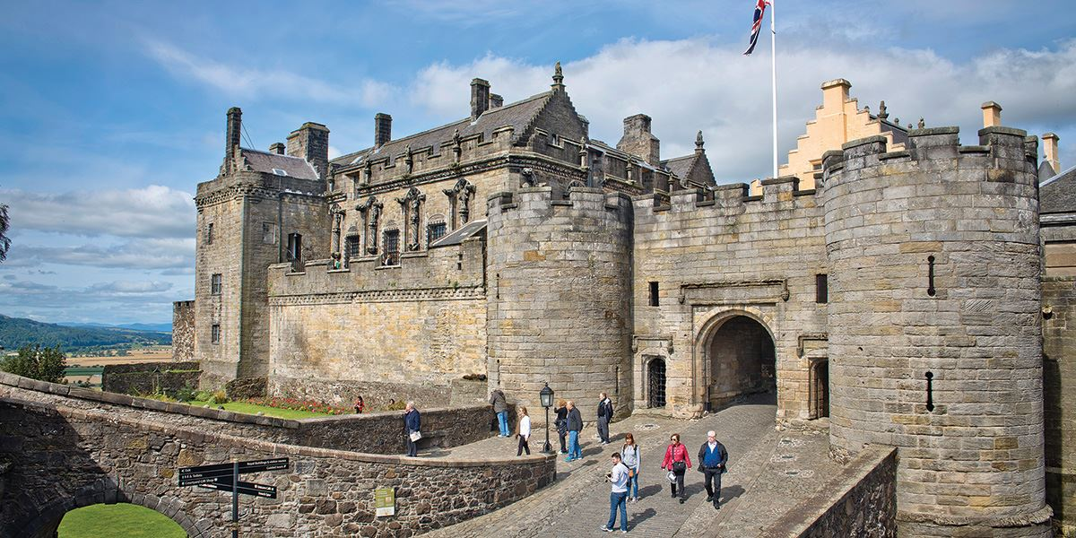 The world-class Stirling Castle