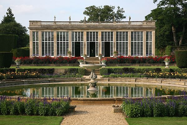 Belton House boasts wonderful artworks along with Dutch gardens