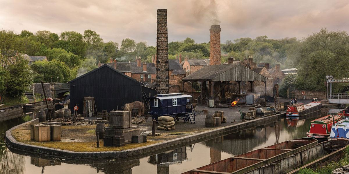 A trip to the Black Country Living Museum is a must for anyone who loves the Peaky Blinders