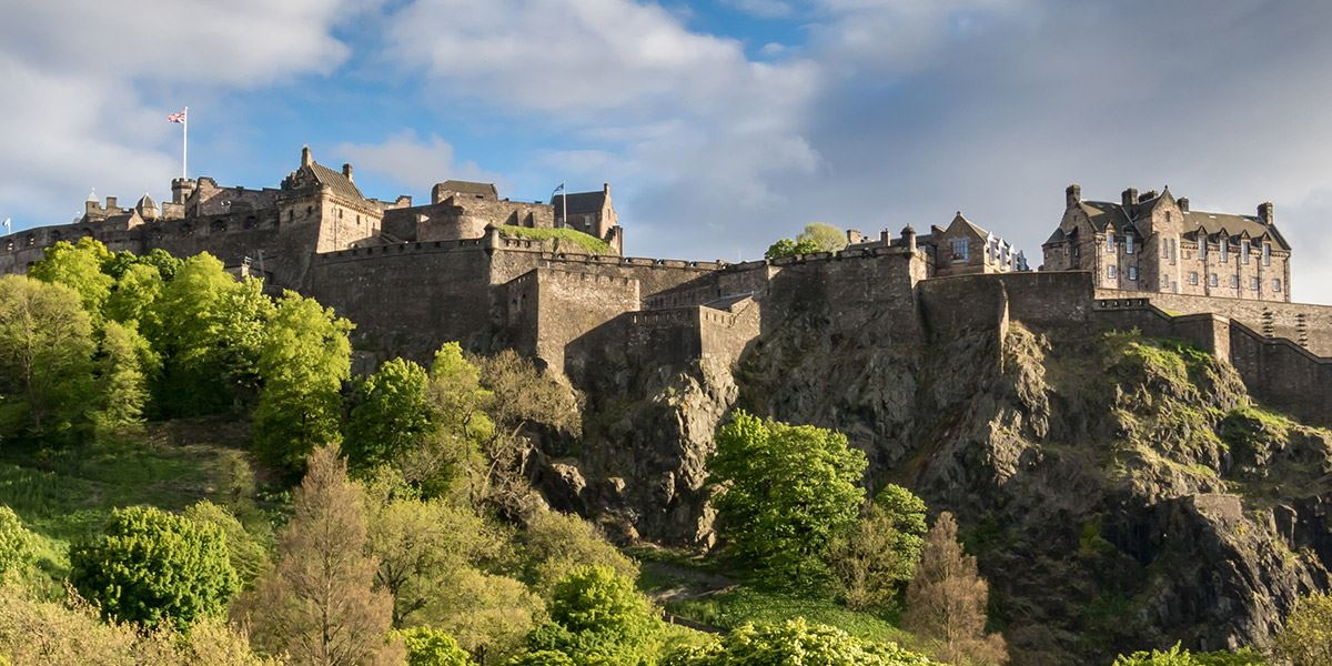 Edinburgh Castle is a proud and majestic symbol of Scotland, famous the world over